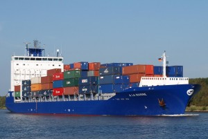 Container ship for FAQ's